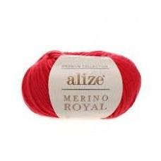 Merino Royal  56 (красный)