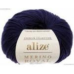 Merino Royal  58 (темно-синий)