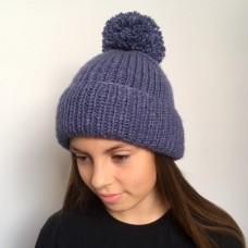 Универсальная шапка спицами — 2 варианта в одном мастер-классе!