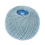 Снежинка сверкающая 1601 (голубой)