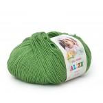 Alize Baby Wool 255 (ярко-оливковый)