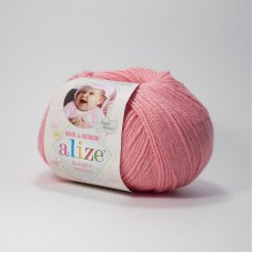 Alize Baby Wool  33 (темно-розовый)