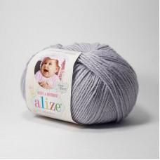 Alize Baby Wool  52 (талая вода)