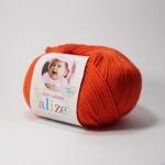 Alize Baby Wool 056 (красный)