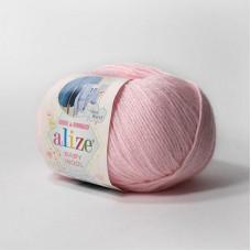 Alize Baby Wool 184 (светло-розовый)