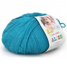 Alize Baby Wool 245 (т.голубой)