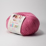 Alize Baby Wool 489 (цикламен)